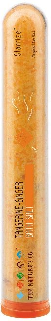 Buy The Natures Co. Tangerine and Ginger Bath Salt (75 g)-Purplle