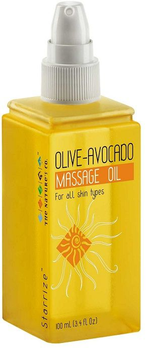 Buy The Natures Co. Olive Avocado Massage Oil (100 ml)-Purplle