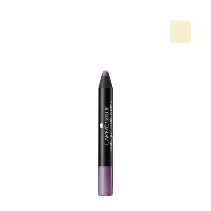 Buy Lakme Absolute Drama Stylist Eye Shadow Crayon White (1.6 g)-Purplle