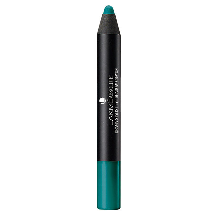 Buy Lakme Absolute Drama Stylist Eye Shadow Crayon Turquoise (1.6 g)-Purplle