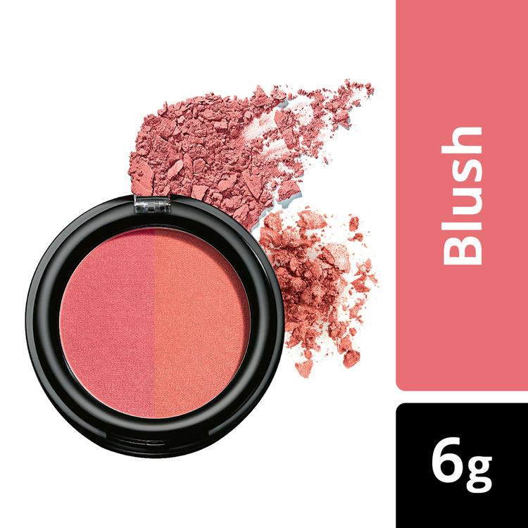 Buy Lakme Absolute Face Stylist Blush Duos - Peach Blush (6 g)-Purplle