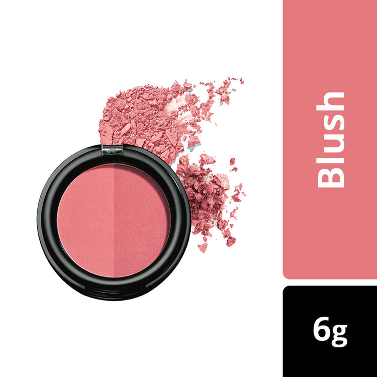 Buy Lakme Absolute Face Stylist Blush Duos - Rose Blush (6 g)-Purplle