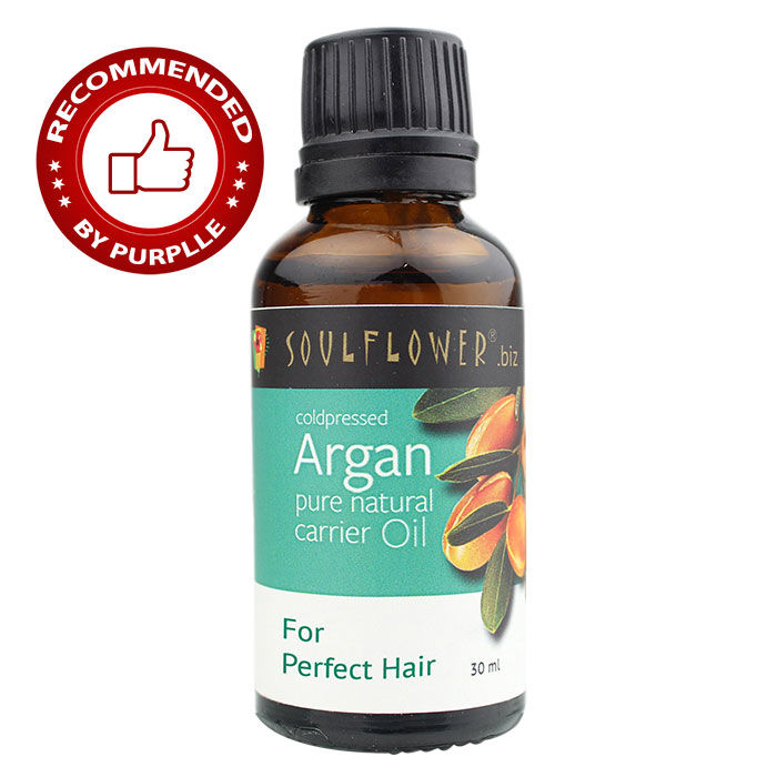 Buy Soulflower Cold Pressed Moroccan Argan Carrier Oil (30 ml)-Purplle