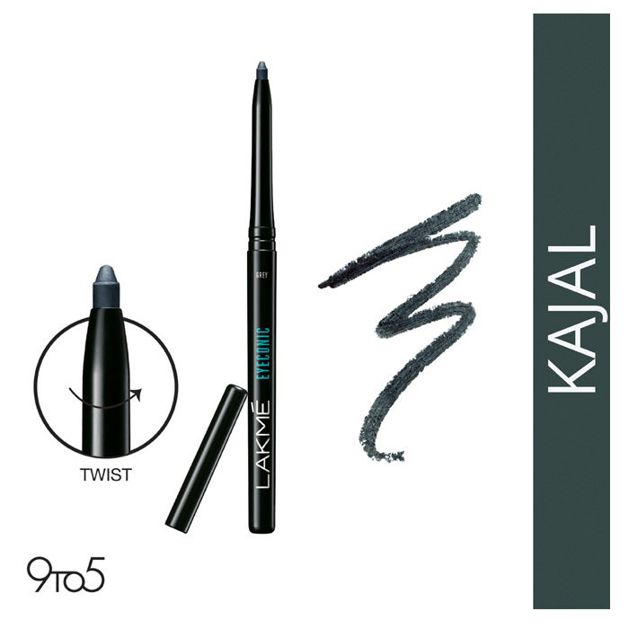Buy Lakme Eyeconic Kajal Grey (0.35 g)-Purplle