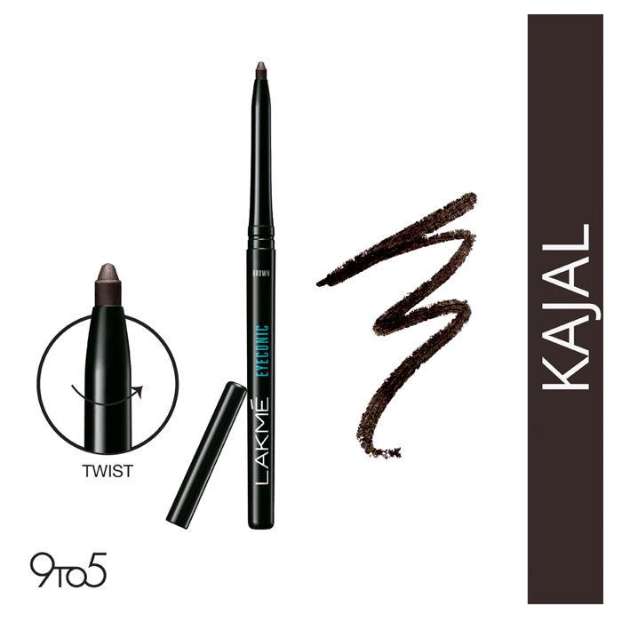 Buy Lakme Eyeconic Kajal Brown (0.35 g)-Purplle