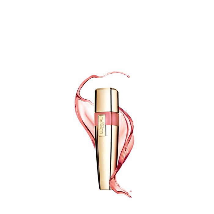 Buy L'Oreal Paris Shine Caresse Lip Gloss Pretty Woman-Purplle