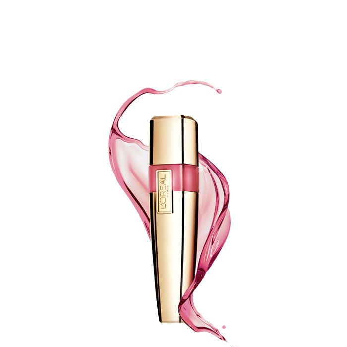 Buy L'Oreal Paris Shine Caresse Lip Gloss Bella 604-Purplle