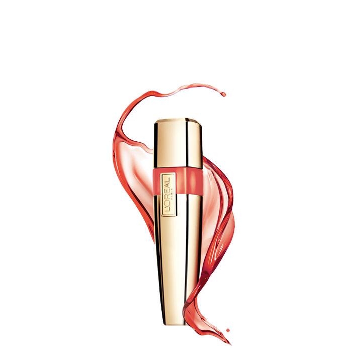 Buy L'Oreal Paris Shine Caresse Lip Gloss Faye (6 ml)-Purplle
