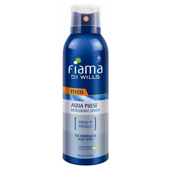 Buy Fiama Di Wills Aqua Pulse Deodorant For Men (200 ml)-Purplle