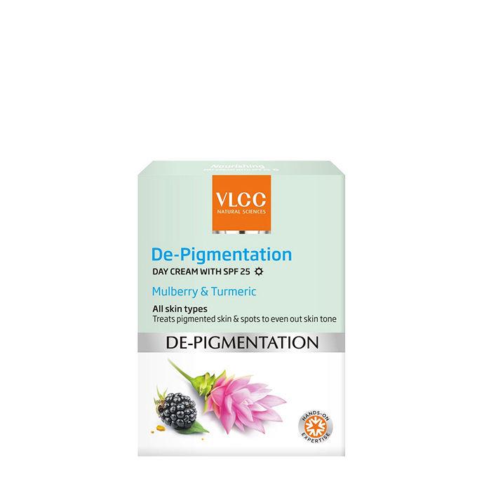 Buy VLCC De-Pigmentation Day Cream With SPF 25 (50 g)-Purplle