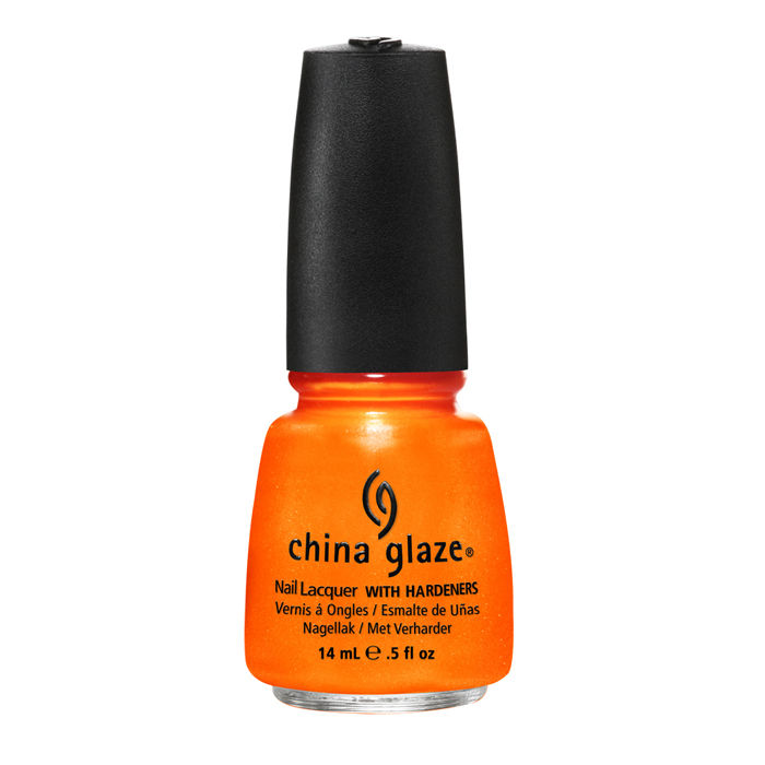 Buy China Glaze Nail Enamel Orange You Hot 1091 (14 ml)-Purplle
