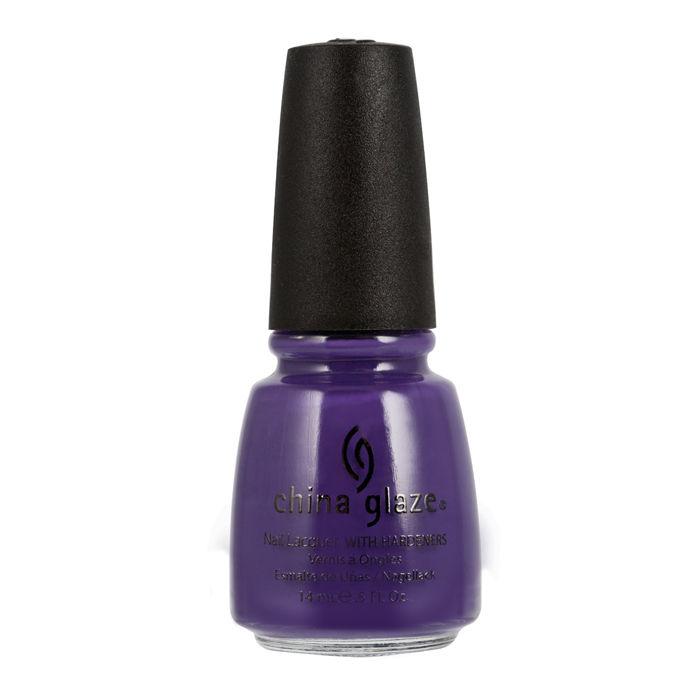 Buy China Glaze Nail Enamel Grape Pop 860 (14 ml)-Purplle