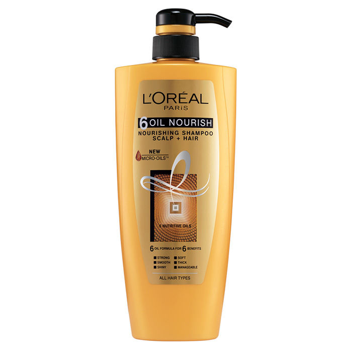 Buy L Oreal Paris 6 Oil Nourish Shampoo 640 Ml Find