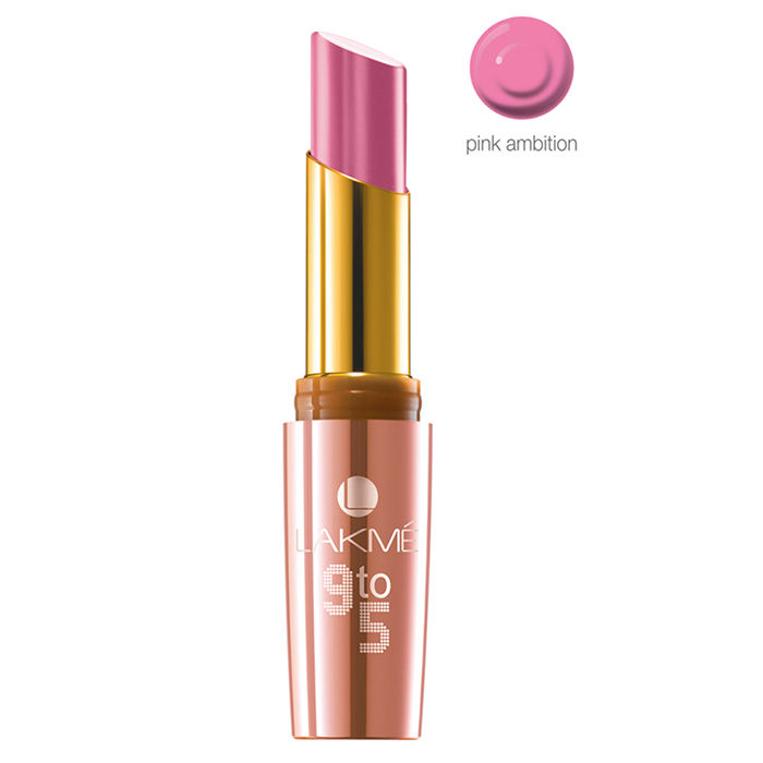 Buy Lakme 9 to 5 Matte Lipstick Pink Ambition MP 14-Purplle