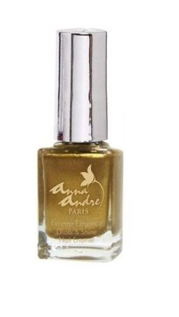Buy Anna Andre Paris Nail Enamel Gold Magic 80077-Purplle