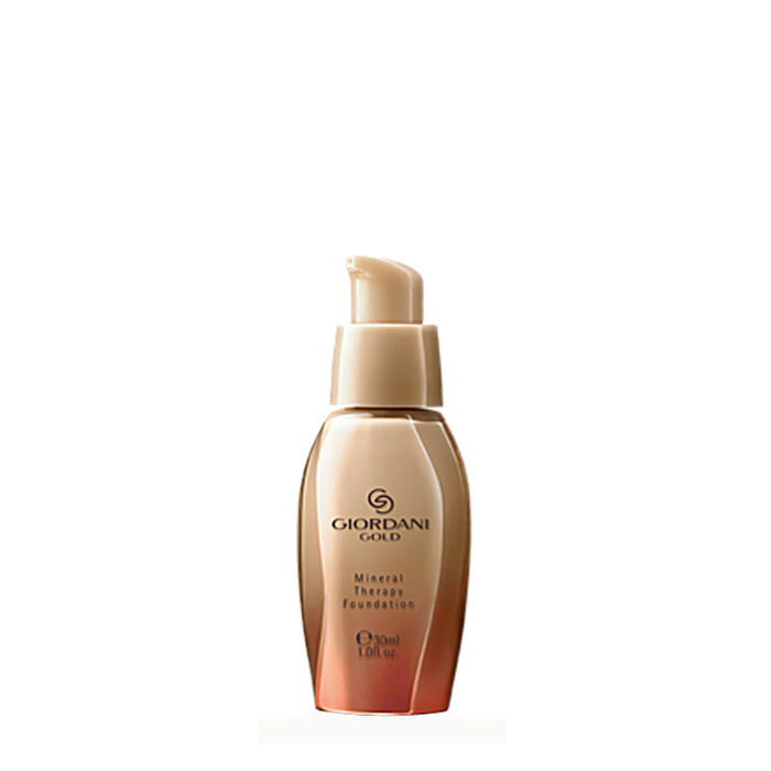 Buy Oriflame Giordani Gold Mineral Therapy Foundation Porcelain (30 ml)-Purplle