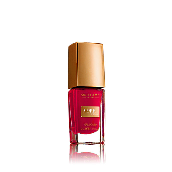 Buy Oriflame More by Demi Nail Polish Hollywood Red (4 g)-Purplle