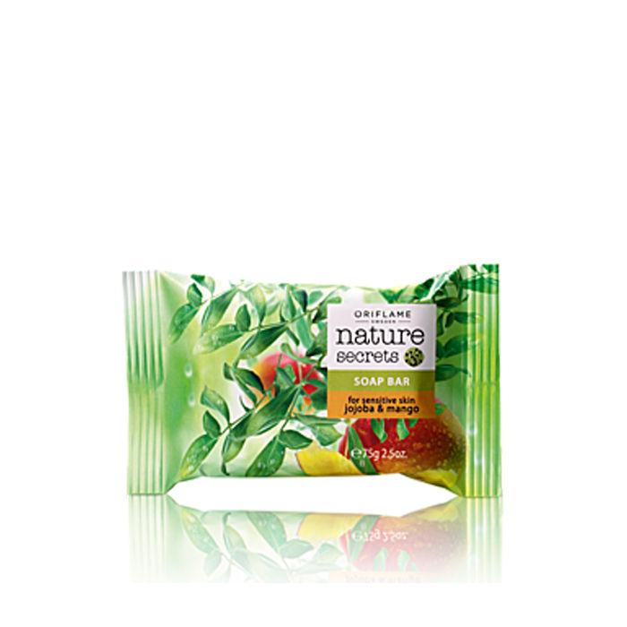Buy Oriflame Nature Secrets Soap Bar for Sensitive Skin Jojoba & Mango (75 g)-Purplle