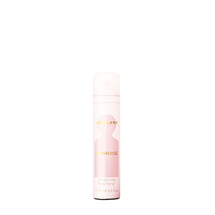 Buy Oriflame Paradise Deodorising Body Spray (75 ml)-Purplle