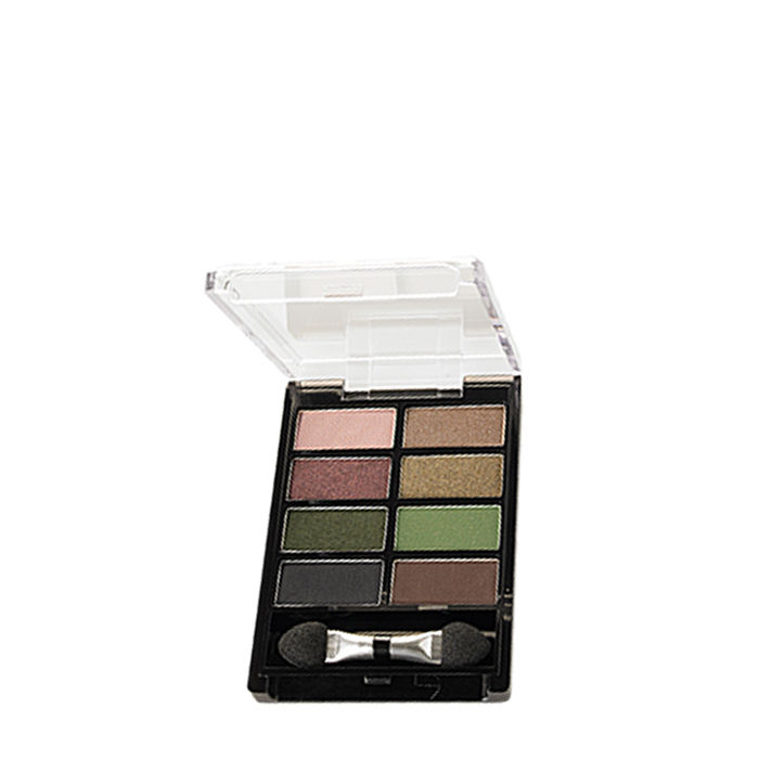Buy Oriflame Pure Colour Eye Shadow Palette Sand & Green-Purplle