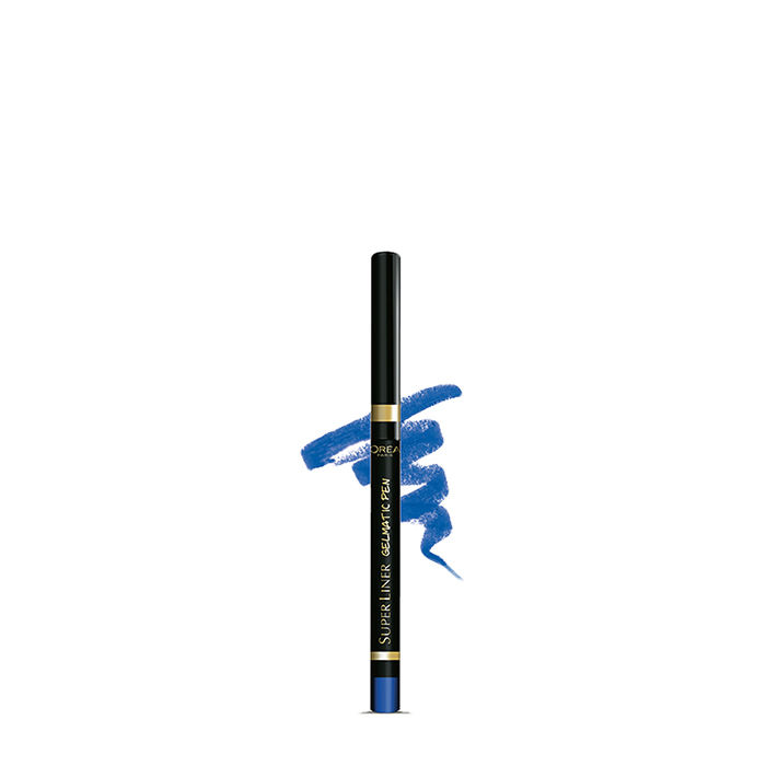 Buy L'Oreal Paris SuperLiner Gelmatic Blue Force (0.3 g)-Purplle