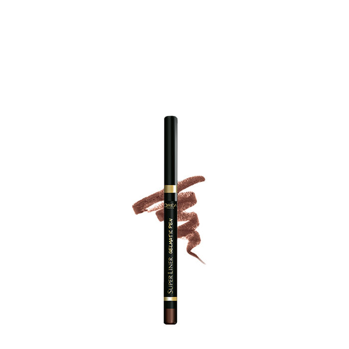 Buy L'Oreal Paris SuperLiner Gelmatic Deep Brown (0.3 g)-Purplle