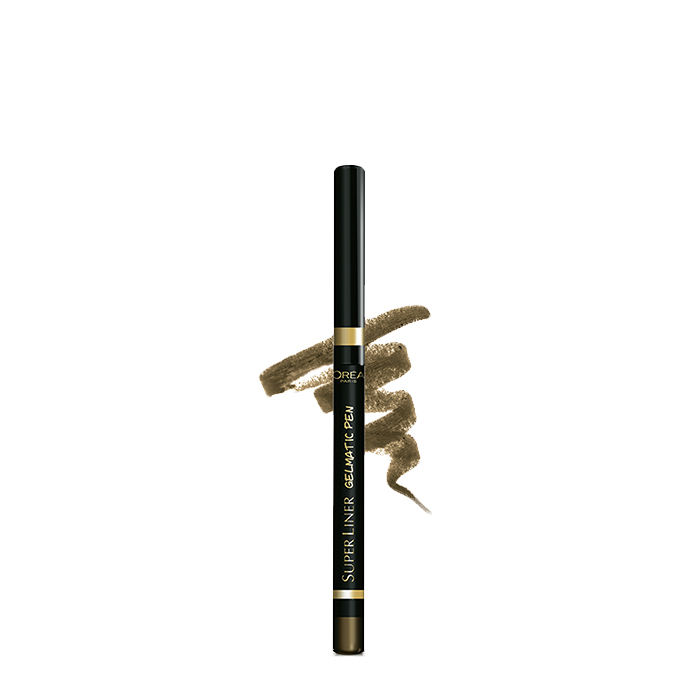 Buy L'Oreal Paris SuperLiner Gelmatic Glamor Gold-Purplle