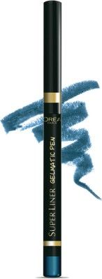 Buy L'Oreal Paris SuperLiner Gelmatic Turquoise (0.3 g)-Purplle