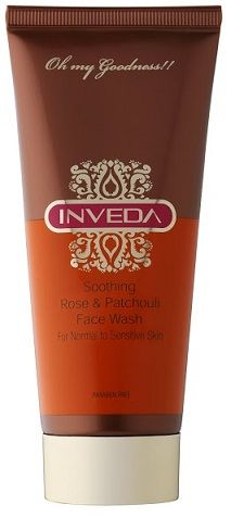 Buy Inveda Rose & Pacholi Soothing Face Wash (100 ml)-Purplle
