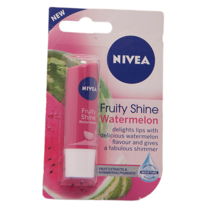 Buy Nivea Fruity Shine Watermelon Lip Blam (4.8 g)-Purplle