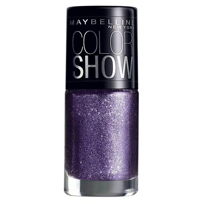 Buy Maybelline New York Color Show Nail Polish Glam Paparazzi Purple 606-Purplle