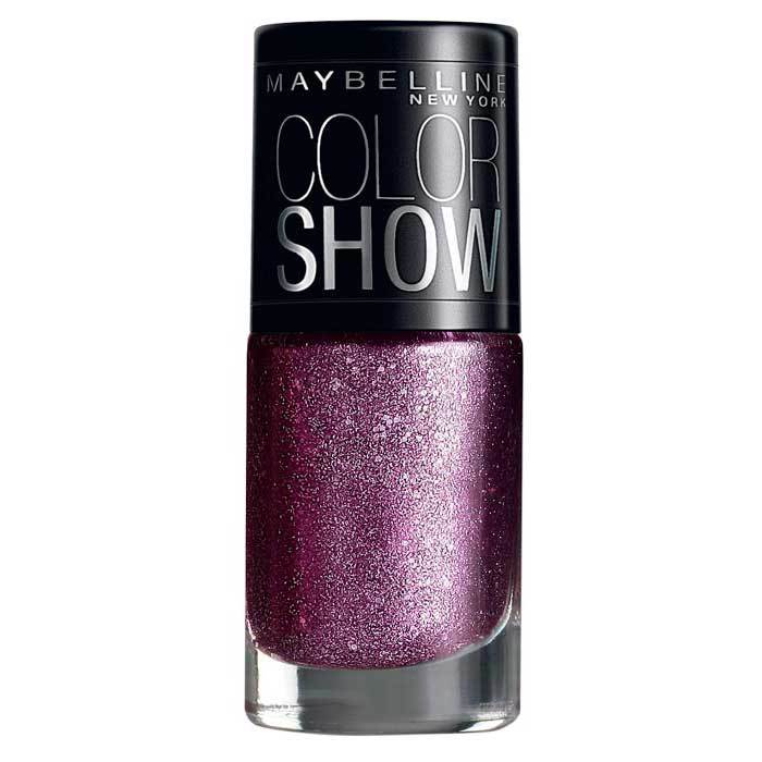 Buy Maybelline New York Color Show Nail Polish Glam Matinee Mauve 605 (6 ml)-Purplle
