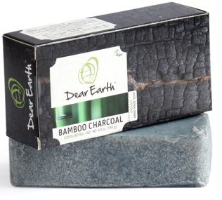 Buy Dear Earth Bamboo Charcoal Exfoliating Soap (140 g)-Purplle