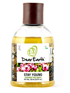 Buy Dear Earth Stay Young Radiance Face Wash (150 ml)-Purplle