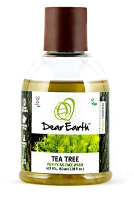 Buy Dear Earth Tea Tree Purifying Face Wash (150 ml)-Purplle