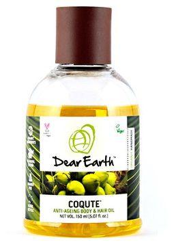 Buy Dear Earth CoQute Body & Hair Oil (150 ml)-Purplle
