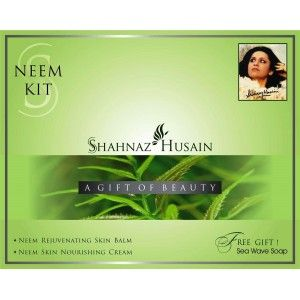 Buy Shahnaz Husain Neem Kit Cream40 G Mask 100 G Kit Online Shahnaz Husain Gift And Value Sets Skin Care Best Price In India Purplle Com