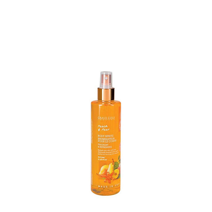 Buy Grace Cole Peach & Pear Fragrant & Refreshing Body Spritz (250 ml)-Purplle