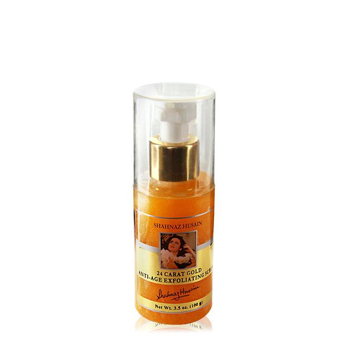 Buy Shahnaz Husain 24 Caratt Gold Anti-Ageing Scrub (100 g)-Purplle