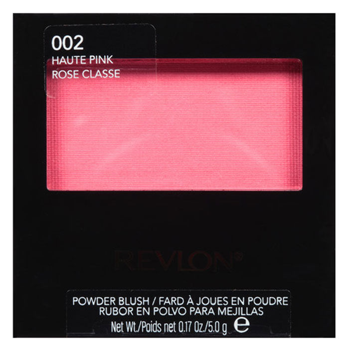 Buy Revlon Powder Blush Haute Pink 5 g-Purplle