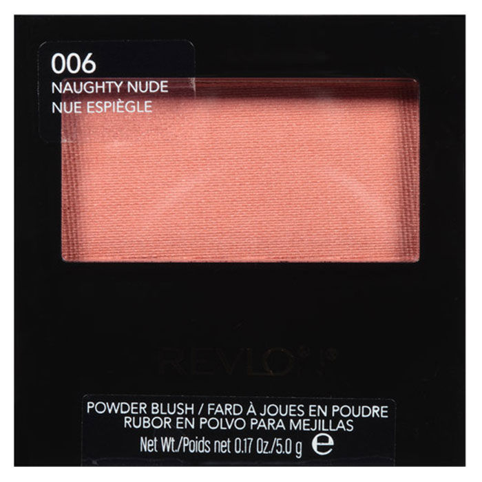 Buy Revlon Powder Blush Naughty Nude 5 g-Purplle