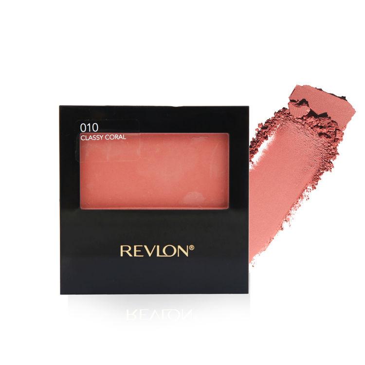 Buy Revlon Powder Blush Classy Coral 5 g-Purplle