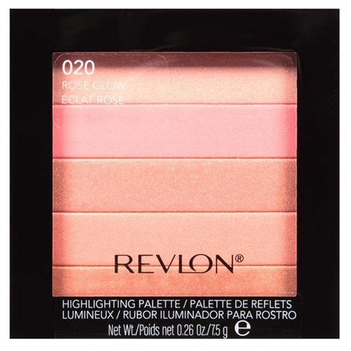 Buy Revlon Highlighting Palette Rose Glow 7.5 g-Purplle