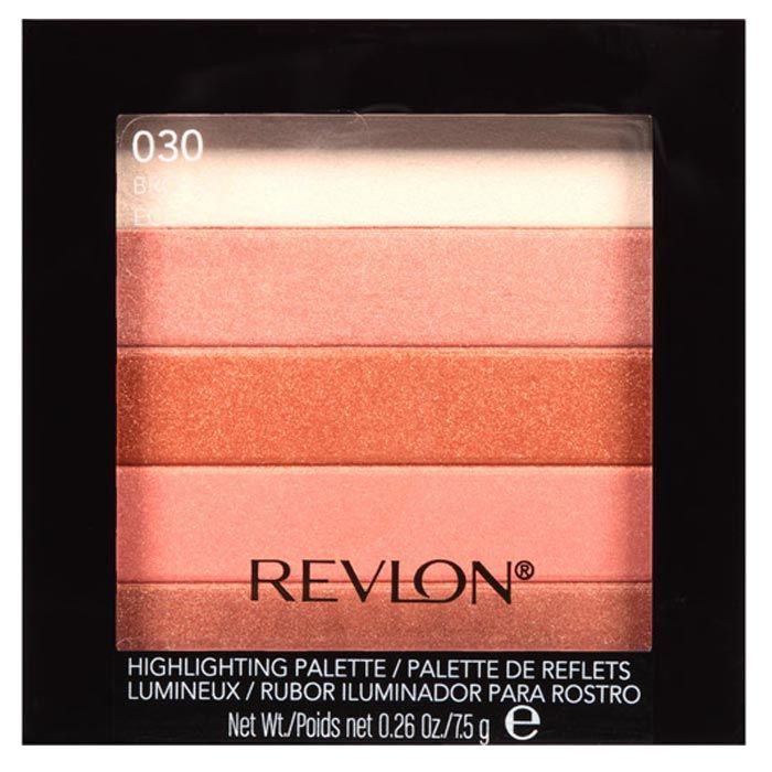 Buy Revlon Highlighting Palette Bronze Glow 7.5 g-Purplle