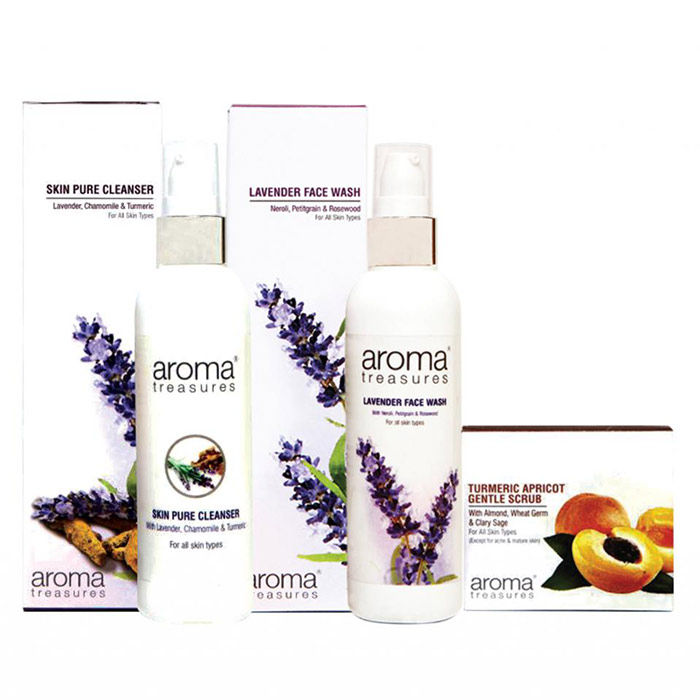 Buy Aroma Treasures Make up Remover Combo-Purplle
