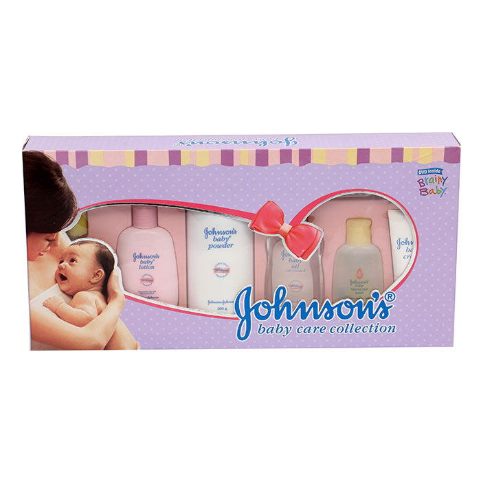 Buy Johnson And Johnson Baby Care Collection Luxury-Purplle