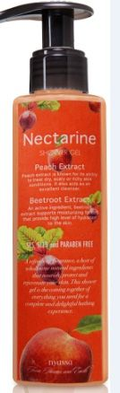 Buy Nyassa Nectarine Shower Gel (145 ml)-Purplle