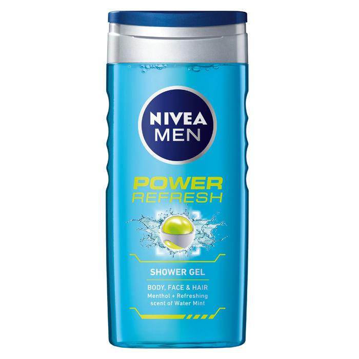 Buy NIVEA MEN Shower Gel Power Refresh Body Wash 500ml-Purplle