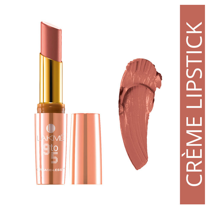 Buy Lakme 9 to 5 Creaseless Creme Lip Color Salmon State (3.6 g)-Purplle
