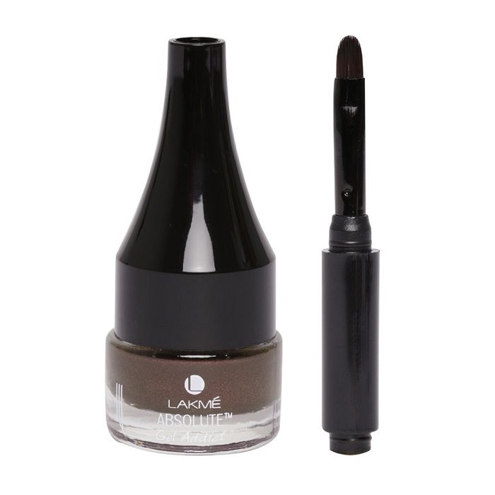 Buy Lakme Absolute Gel Addict Eyeliner Metallic Bronze (2.3 g)-Purplle